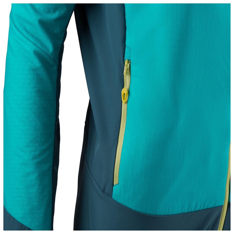 Dynafit Women's Mezzalama 2 Polartec Alpha Jacket Kunstfaserjacke Silvretta | 34 (EU)
