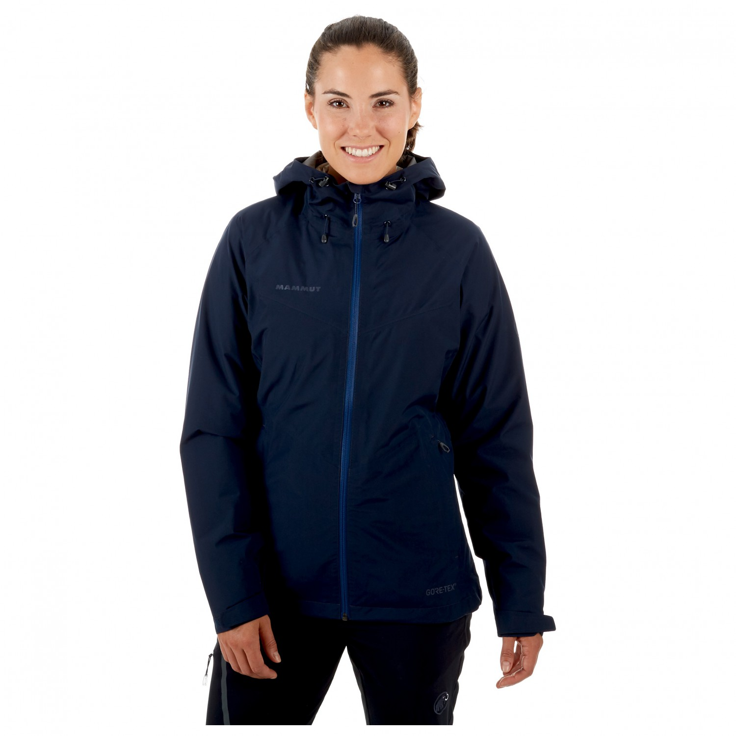 finest selection 7bca6 2e58b Mammut - Women's Convey 3 in 1 HS Hooded Jacket - Pepper / Wing Teal | XS