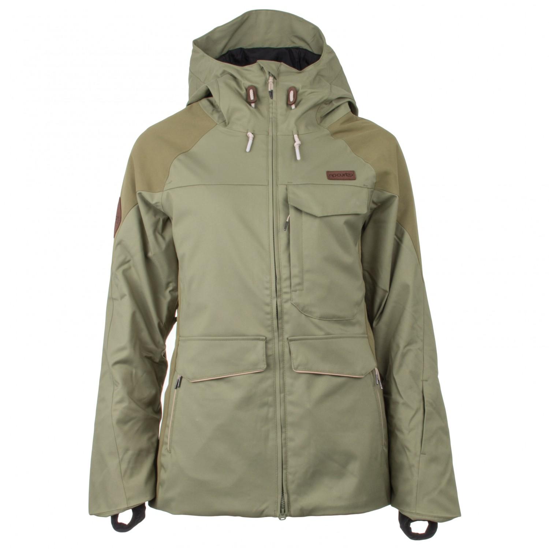 e8cd0f50cbc7b Rip Curl - Women's Harmony Jacket - Winter jacket - Loden Green   L