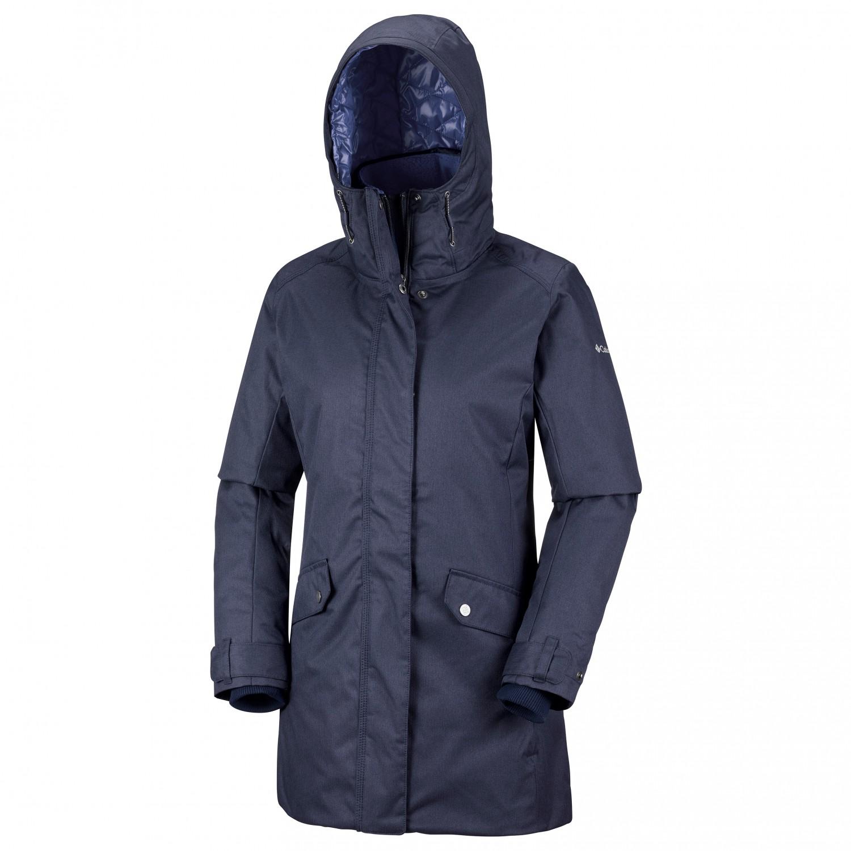 37918566237 Columbia - Women's Pine Bridge Jacket - Winter jacket - Rich Wine | M