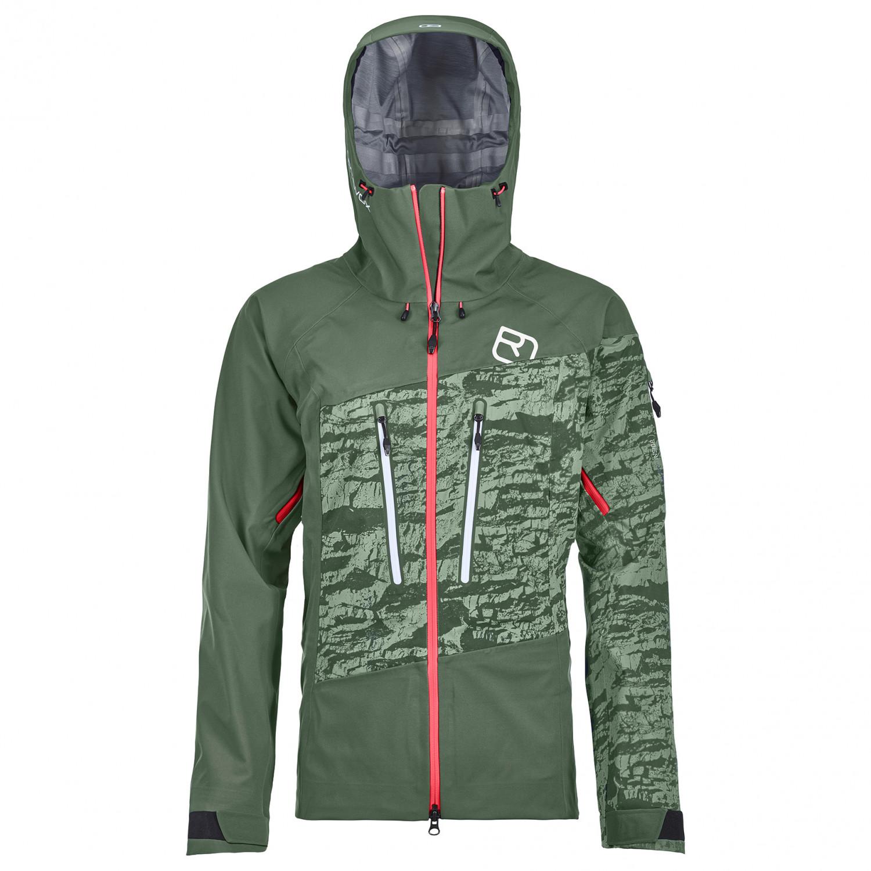 Ortovox Women's 3L Guardian Shell Jacket Skijacke Green Forest | XS