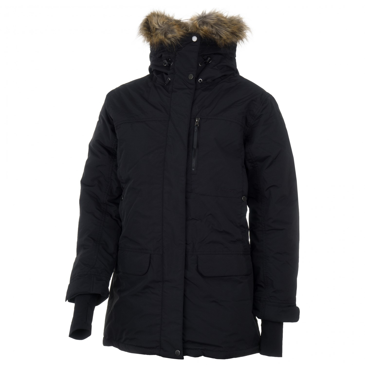 7ef91eaf5 Peak Performance - Women's Summit Down Parka - Winter jacket - Black Olive  | S