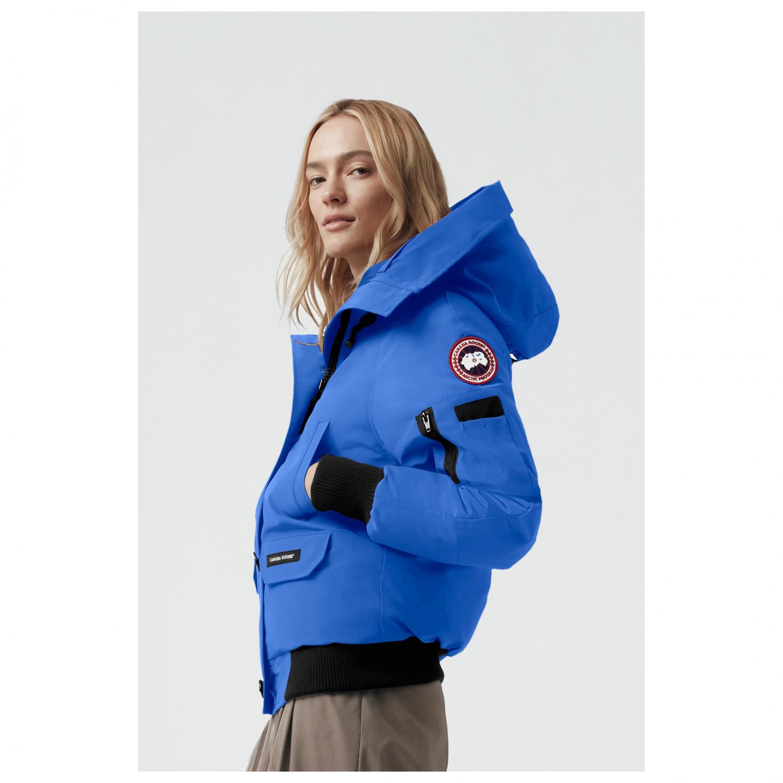 b8fd5575c Canada Goose - Women's Chilliwack Bomber PBI - Winter jacket - Royal PBI  Blue   L
