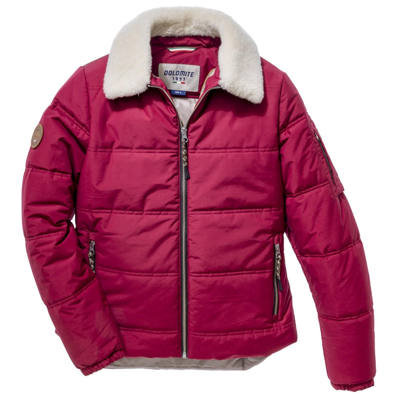 Dolomite Women's Jacket Cinquantaquattro Heritage WRF Winterjacke Tibetan Red   L