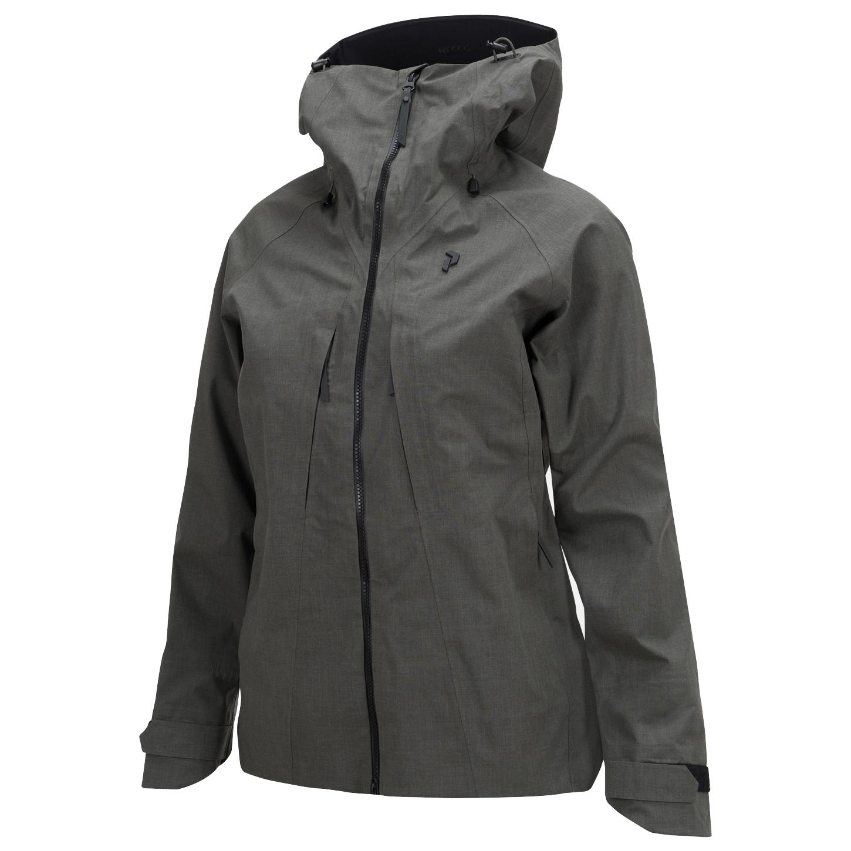 brand new 514ae 6456b Peak Performance - Women's W Teton Jacket - Giacca da sci - Black Olive | L