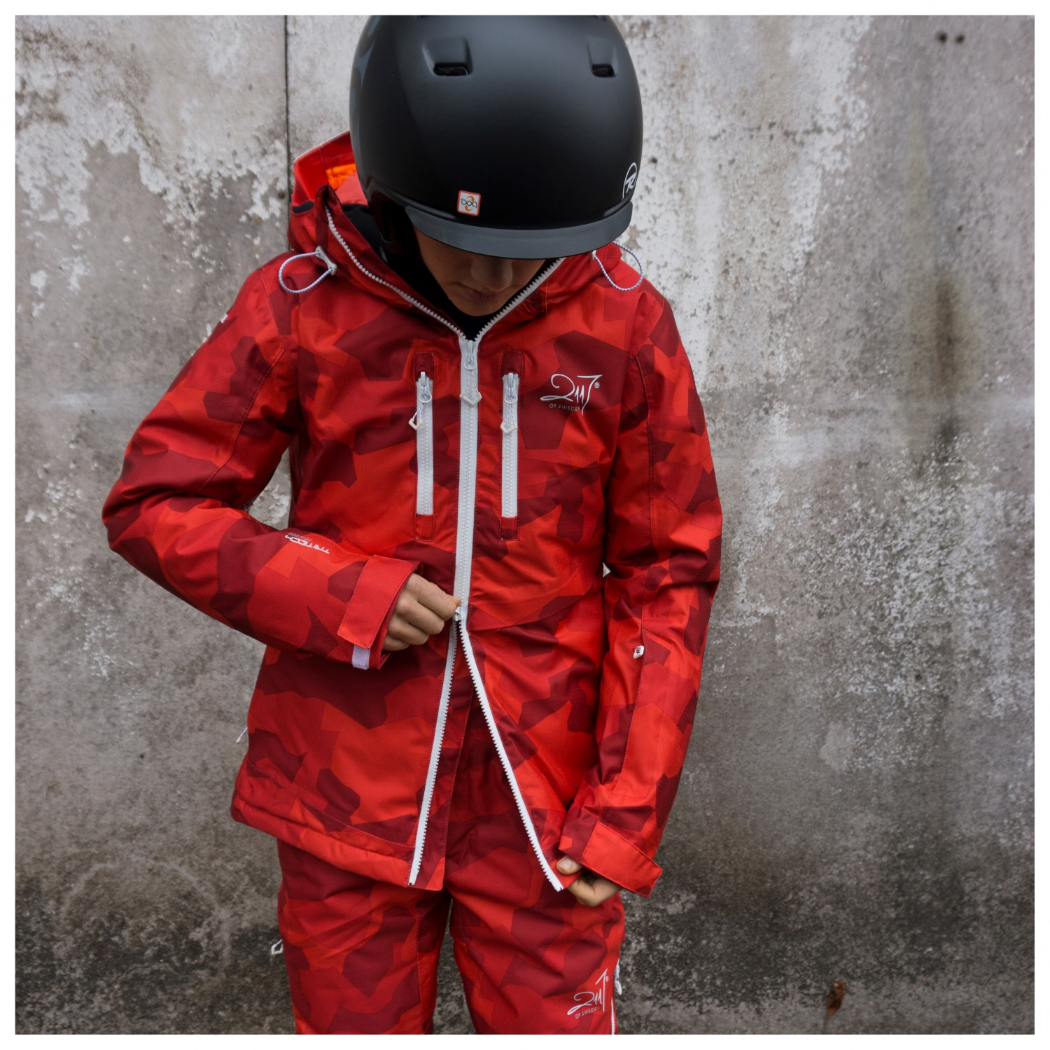 7d4f1fac5 2117 of Sweden Eco Padded Ski Jacket Ope Women s