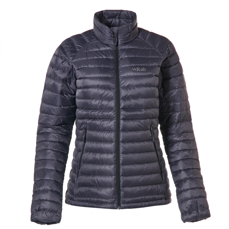 watch 74f96 88fa4 Rab - Women's Microlight Jacket - Daunenjacke - Steel / Passata   8 (UK)