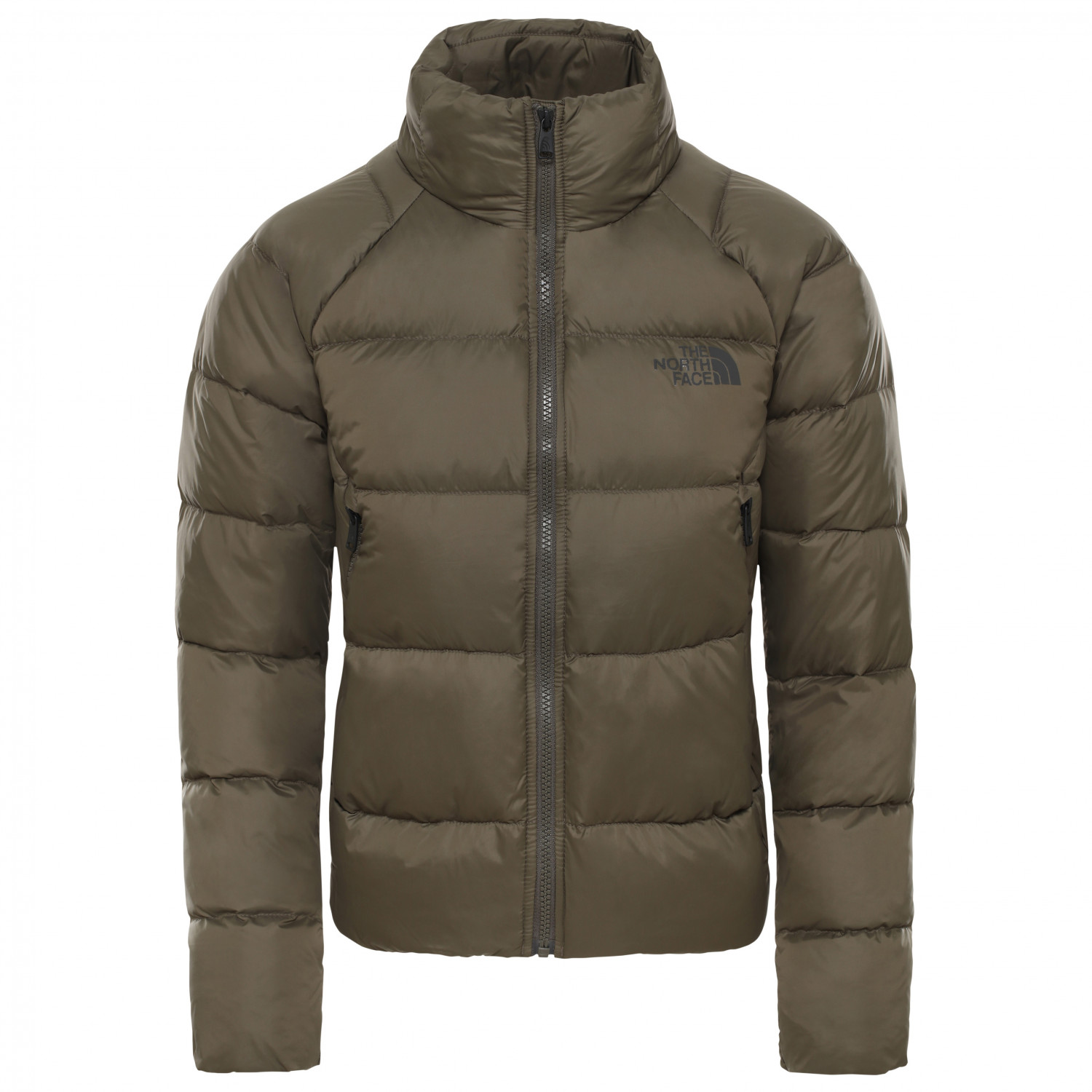 The North Face Women's Hyalite Down Jacket Dunjakke New Taupe Green | XL