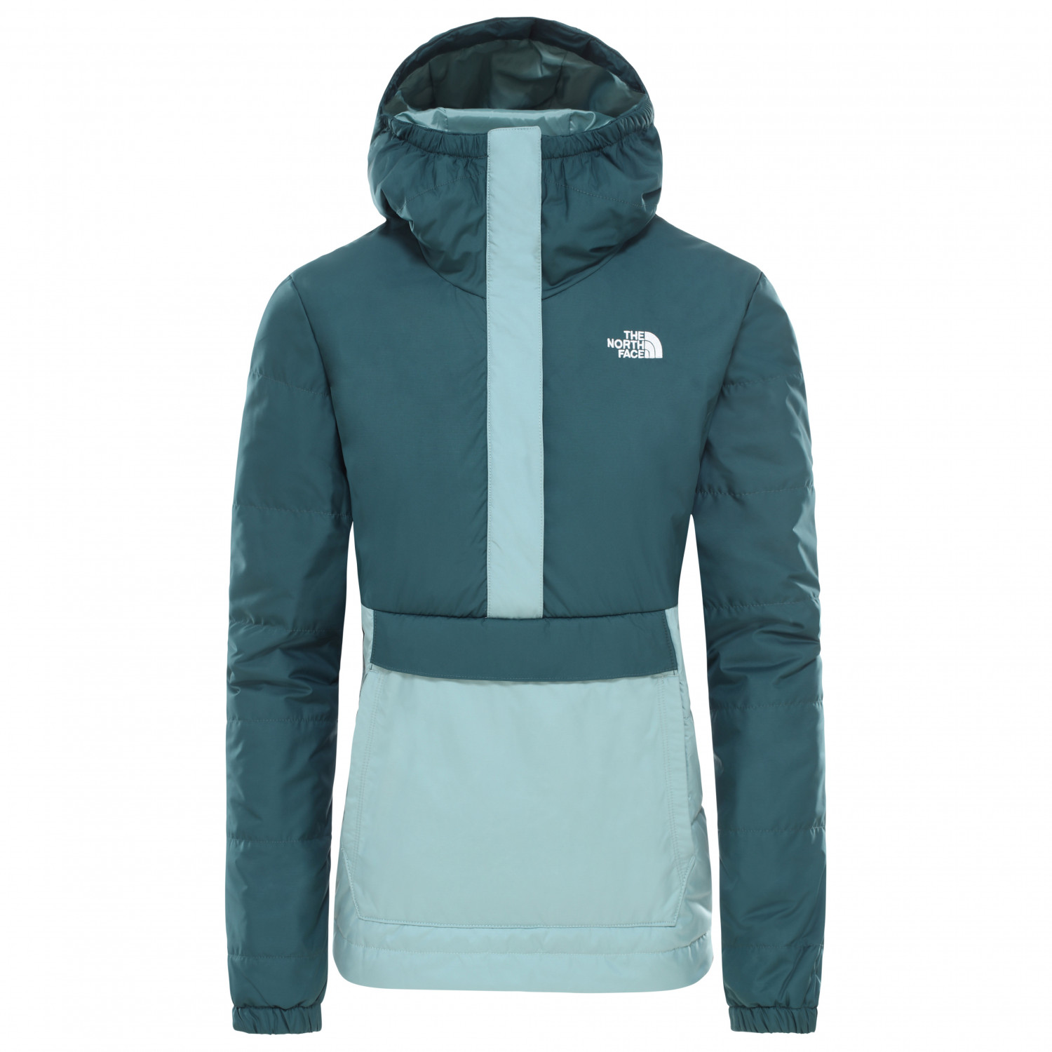 The North Face Women's Insulated Fanorak Winter jacket Ponderosa Green Trellis Green | S