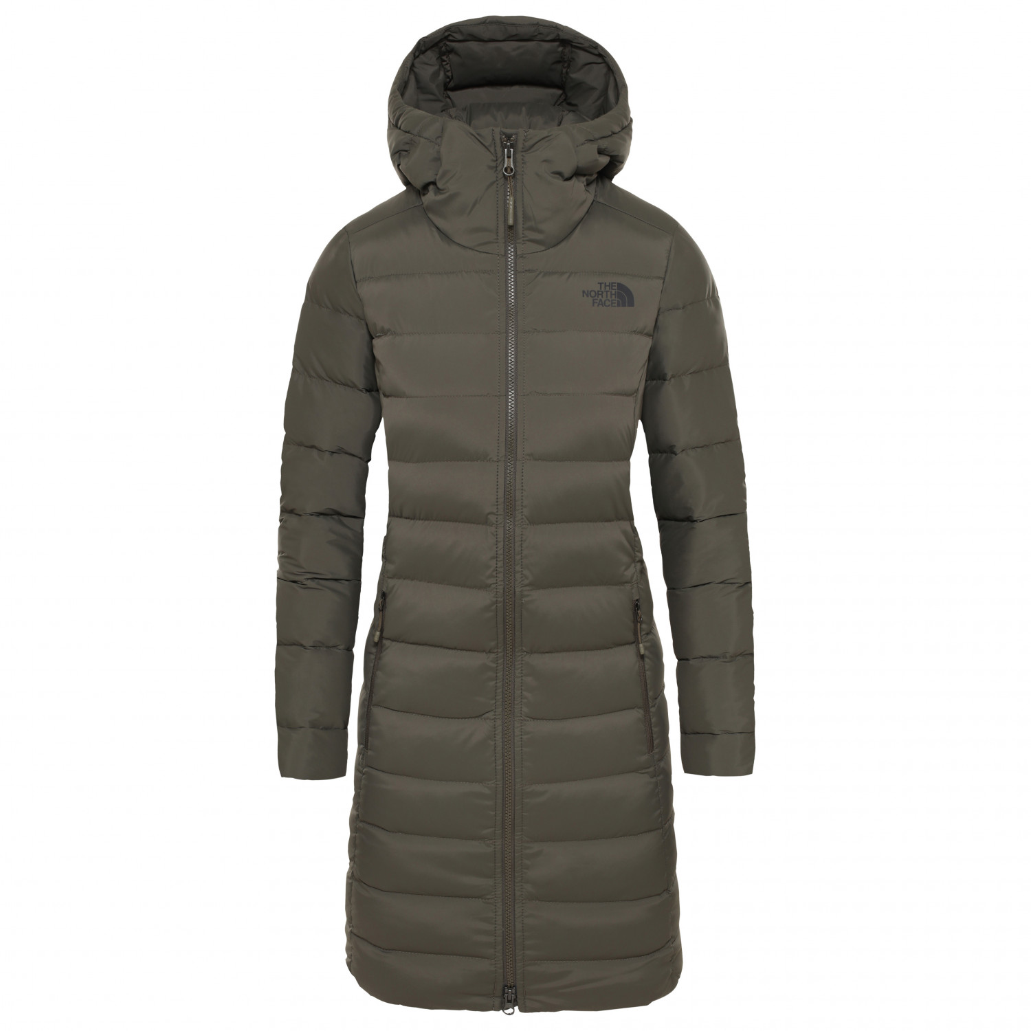 The New Parka North Taupe Stretch Face Down Women's GreenXs UqMpLSVzG