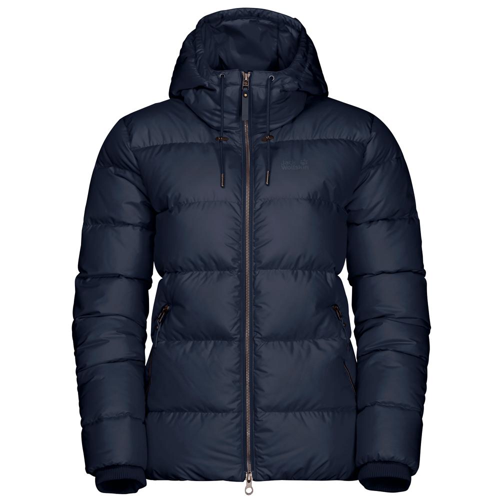 Jack Wolfskin Women's Crystal Palace Jacket Daunenjacke Midnight Blue | S