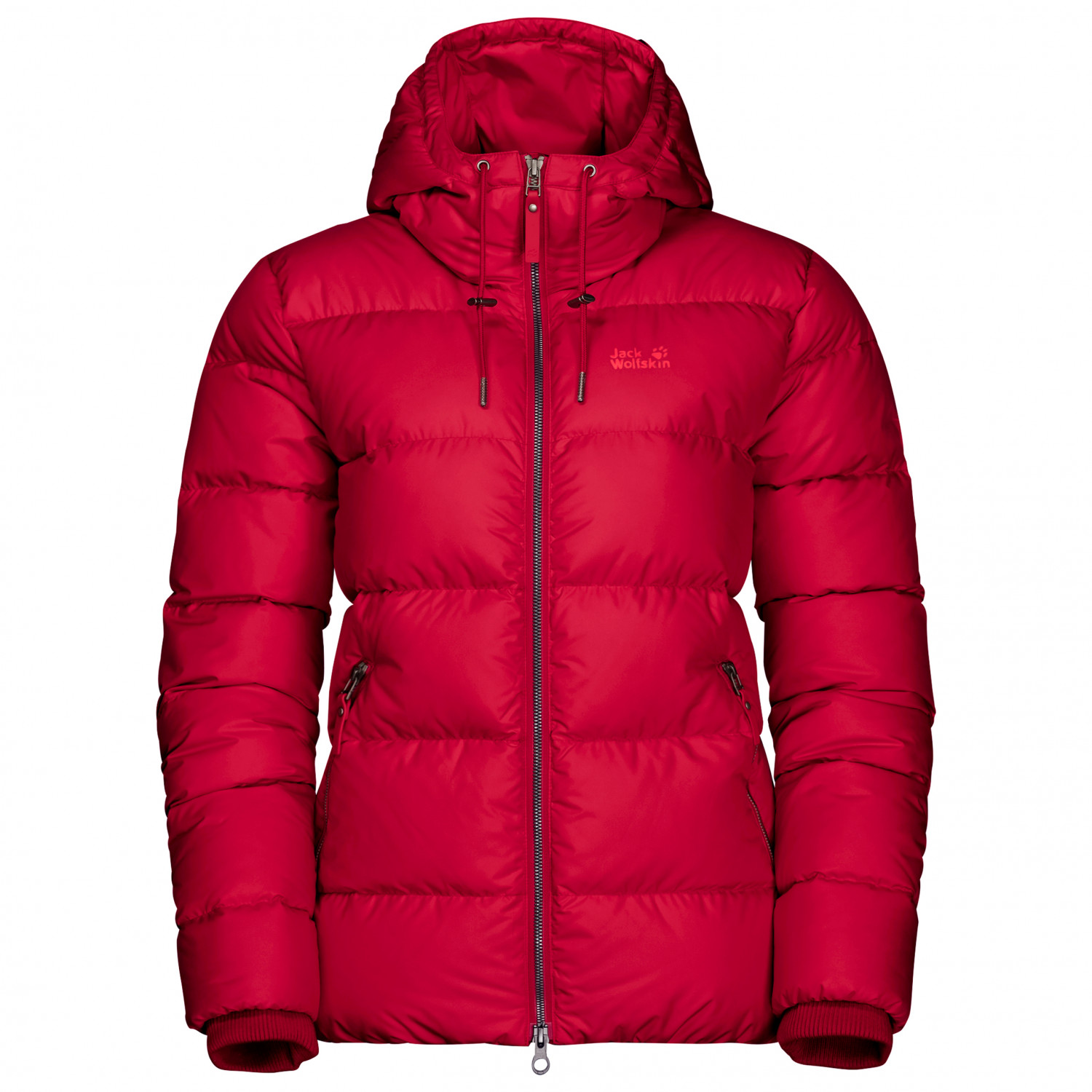 Jack Wolfskin Women's Crystal Palace Jacket Down jacket Ruby Red | S