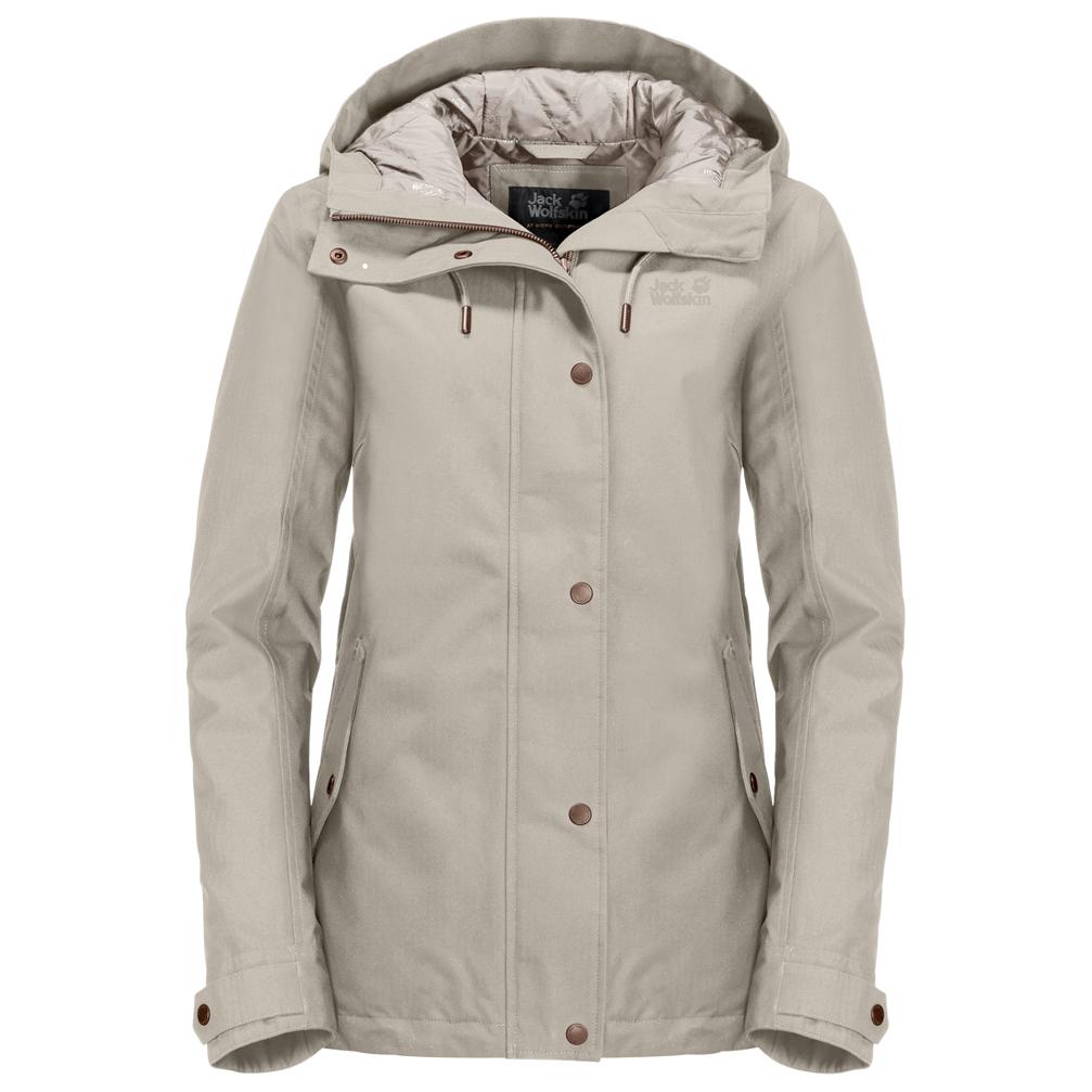 Shop für Beamte offizielle Fotos detaillierte Bilder Jack Wolfskin - Women's Mora Jacket - Winterjacke - Greenish Grey | XS