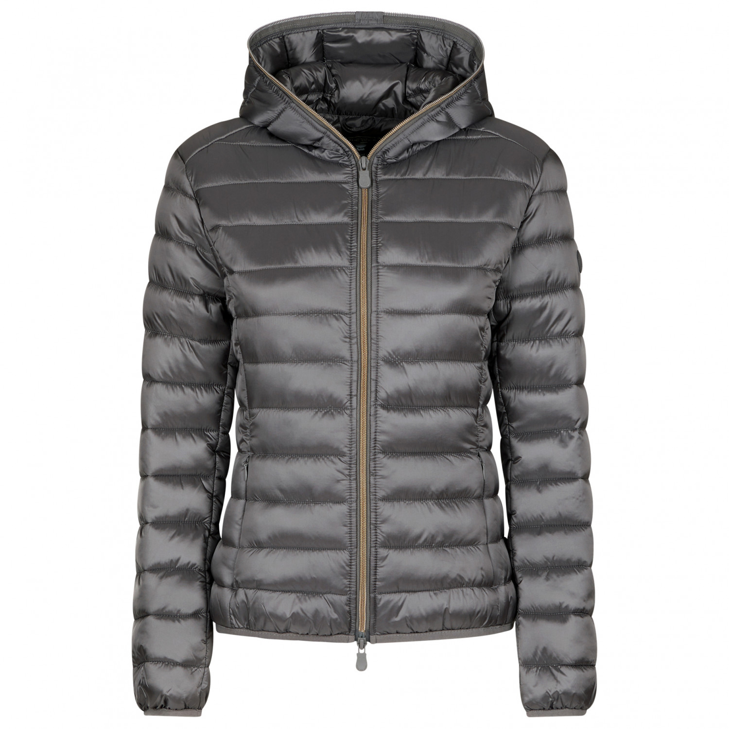 low priced 70203 4c99e Save the Duck - Women's Iris9 Hooded Jacket - Synthetic jacket - Midgrey | L