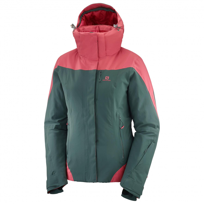 Salomon Women's Icerocket Jacket Ski jacket Green Gab | M