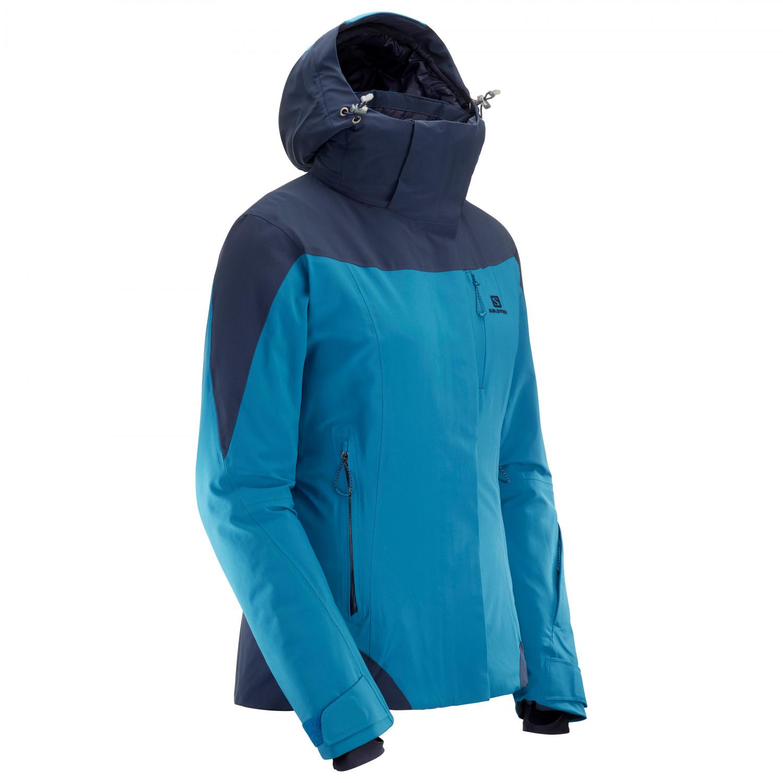 Salomon Women's Icerocket Jacket Skijacke Green Gab | S