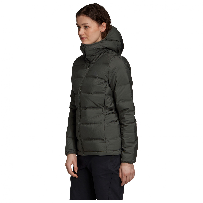 adidas Women's Helionic Hooded Jacket Daunenjacke Black | XS