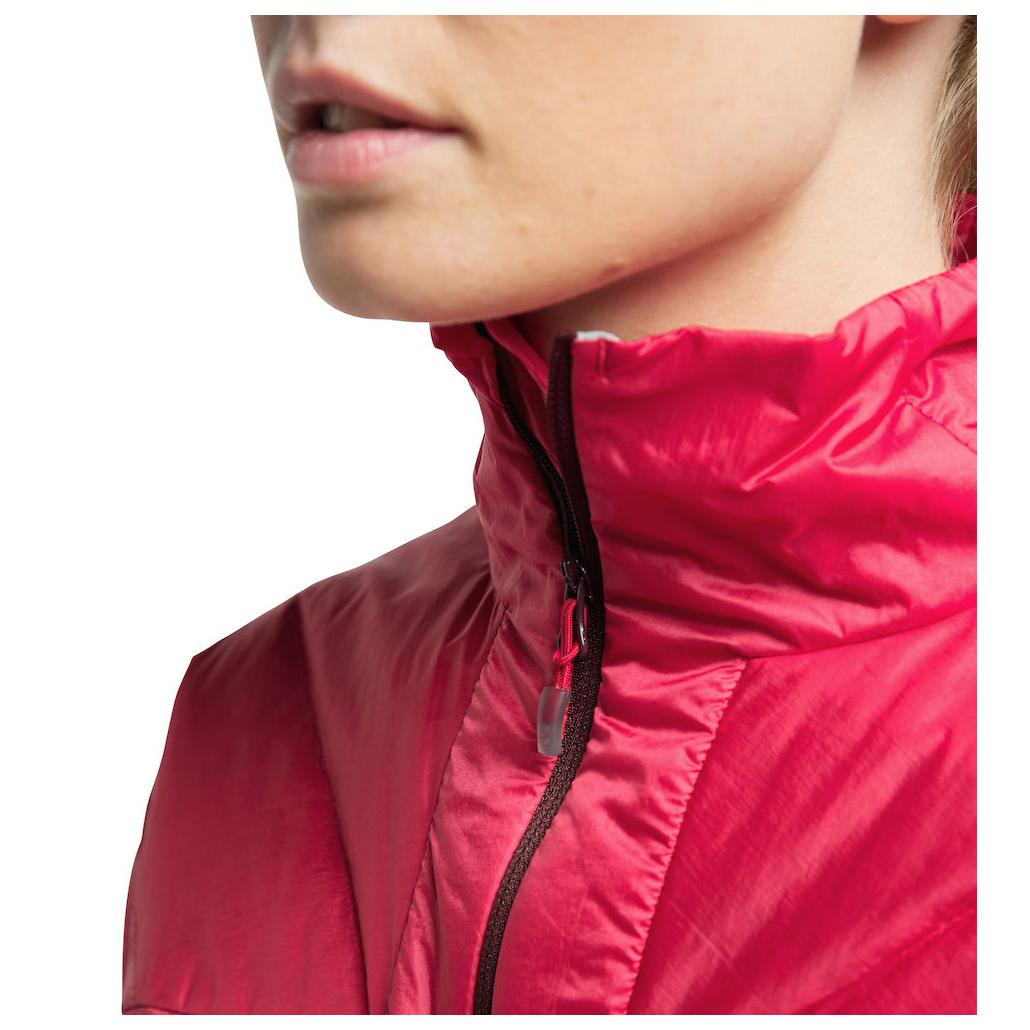Haglöfs Women's L.I.M Barrier Jacket Kunstfaserjacke Hibiscus Red | XS