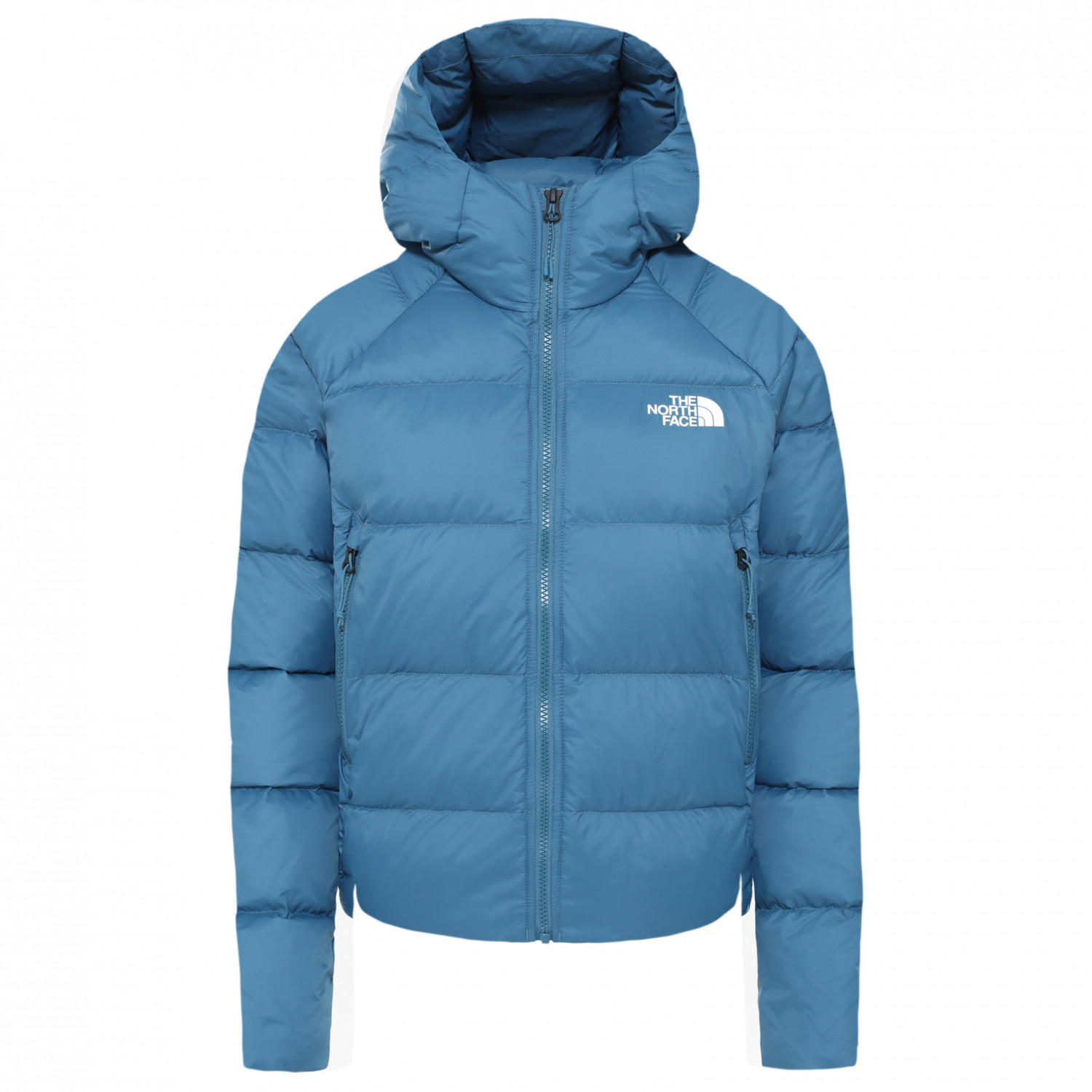 The North Face Women's Hyalite Down Hoodie Dunjacka Mallard Blue | L