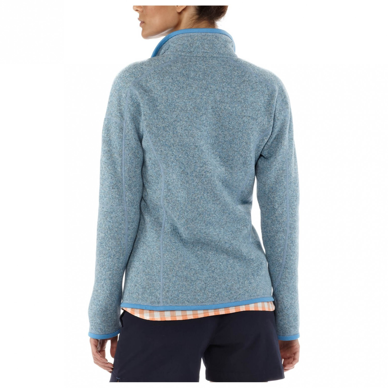 patagonia better sweater jacket fleecejacke damen. Black Bedroom Furniture Sets. Home Design Ideas