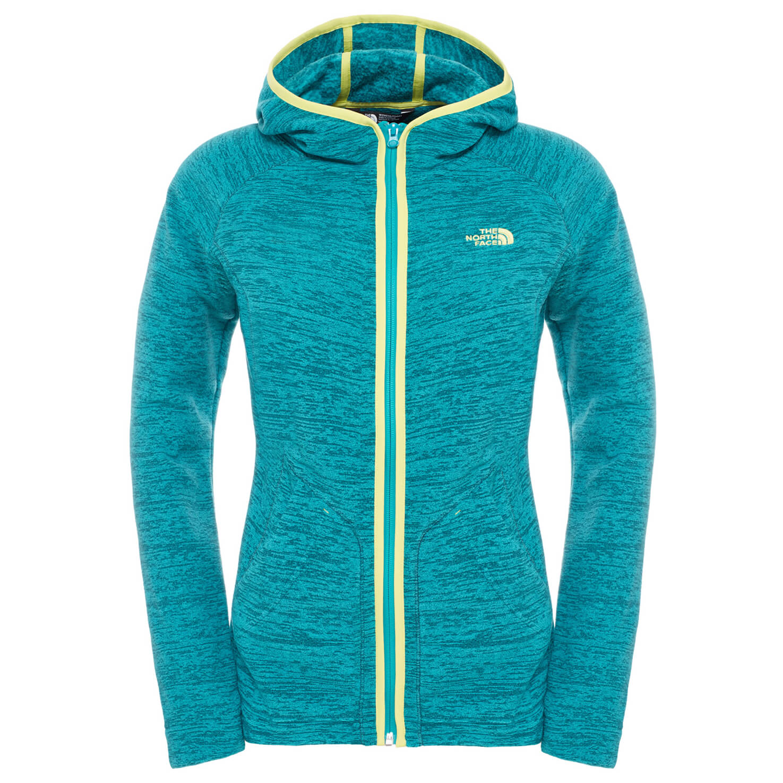 825a12012de3 ... The North Face - Women s Nikster Full Zip Hoodie - Fleece jacket ...