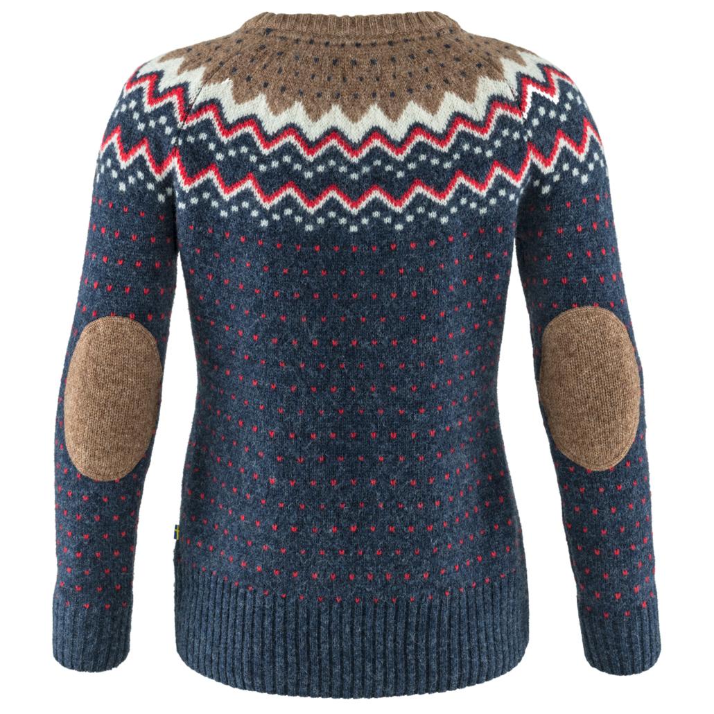 Merino Trui Dames.Fjallraven Ovik Knit Sweater Merino Trui Dames Gratis Verzending