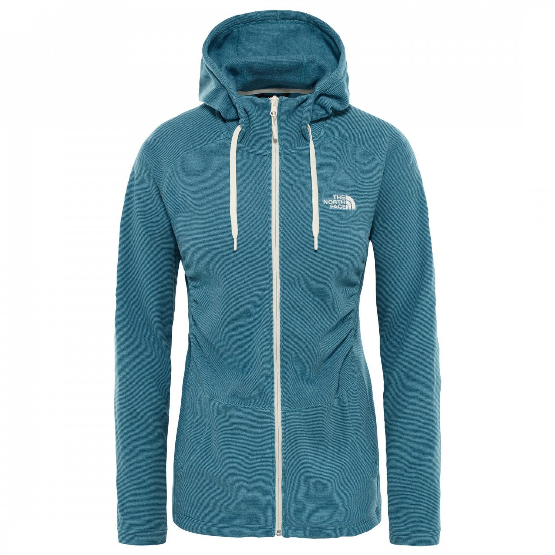 3e1ec4ff8 The North Face Mezzaluna Full Zip Hoodie - Fleece Jacket Women's ...