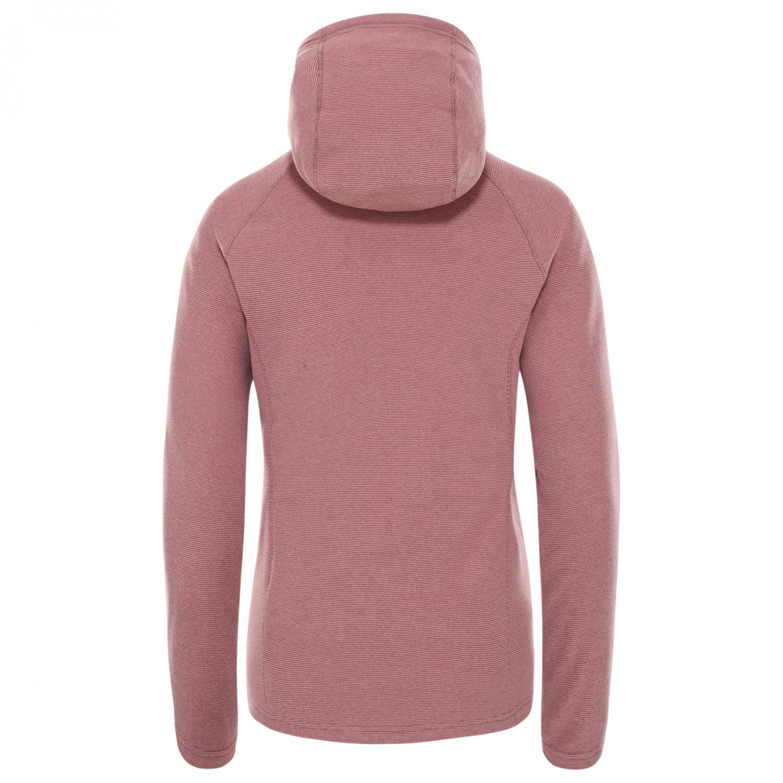 597772be2 The North Face Mezzaluna Full Zip Hoodie - Fleece Jacket Women's ...