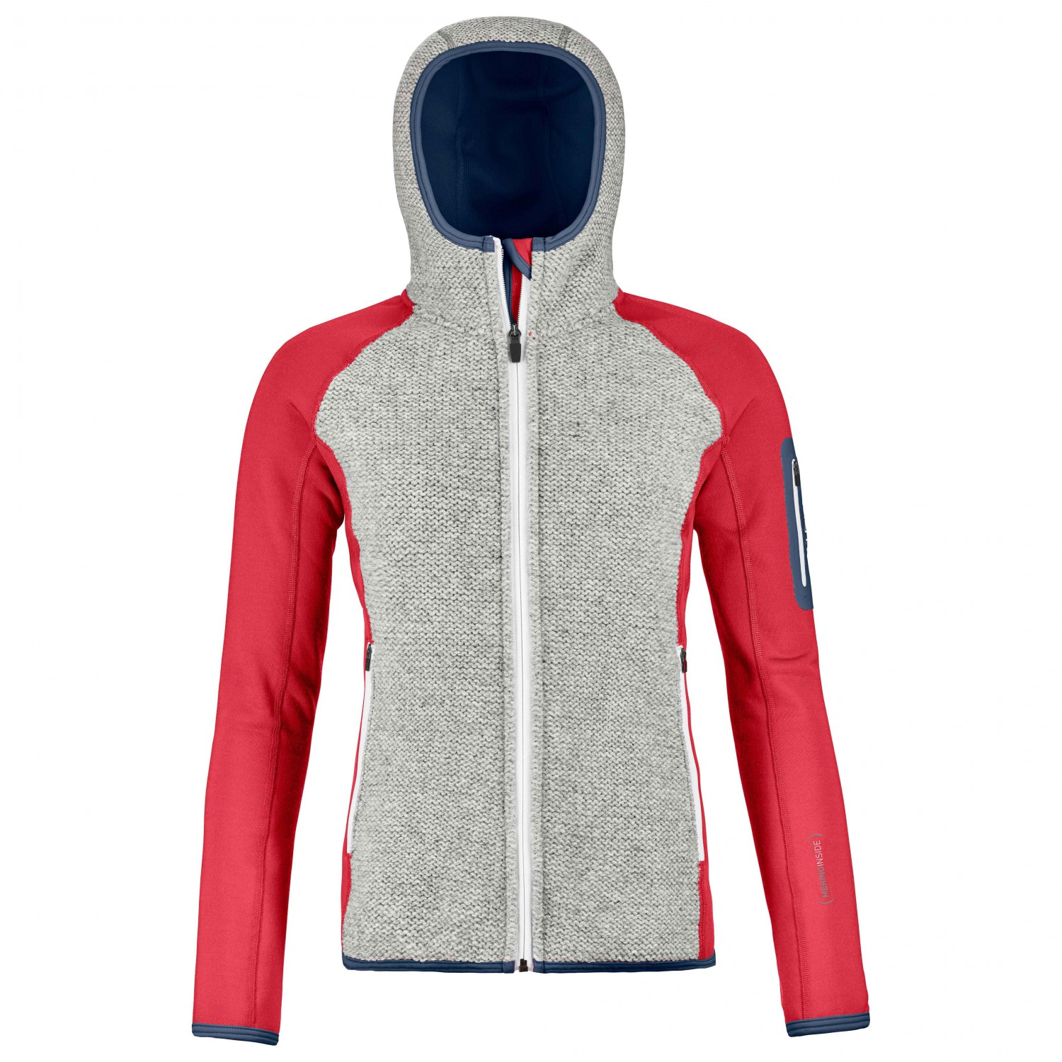 Ortovox Fleece Plus Classic Knit Hoody Wool Jacket Women S Free Uk Delivery Alpinetrek Co Uk