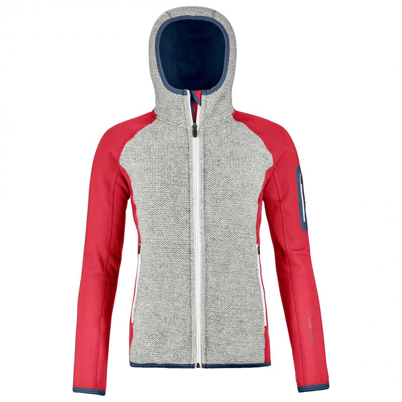 Ortovox Women's Fleece Plus Classic Knit Hoody Wolljacke