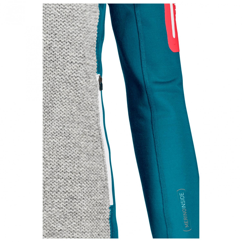 ORTOVOX Damen Fleece Plus Classic Knit HDY W Sweatshirt