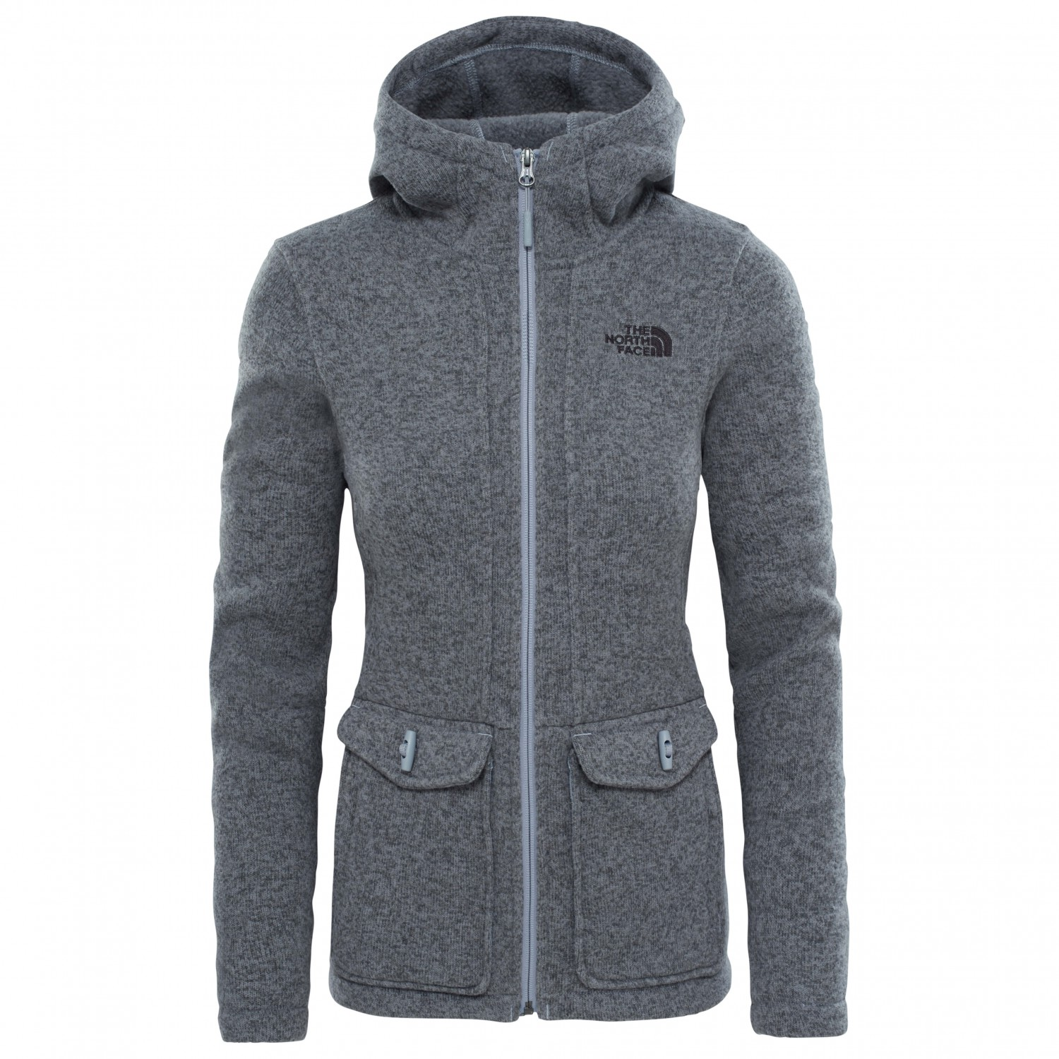 the north face crescent parka fleecejacke damen. Black Bedroom Furniture Sets. Home Design Ideas