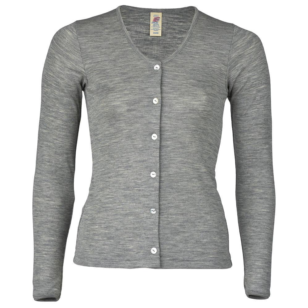 0f621c99d0297 Engel Damen Cardigan Feinripp - Chaqueta de lana Mujer