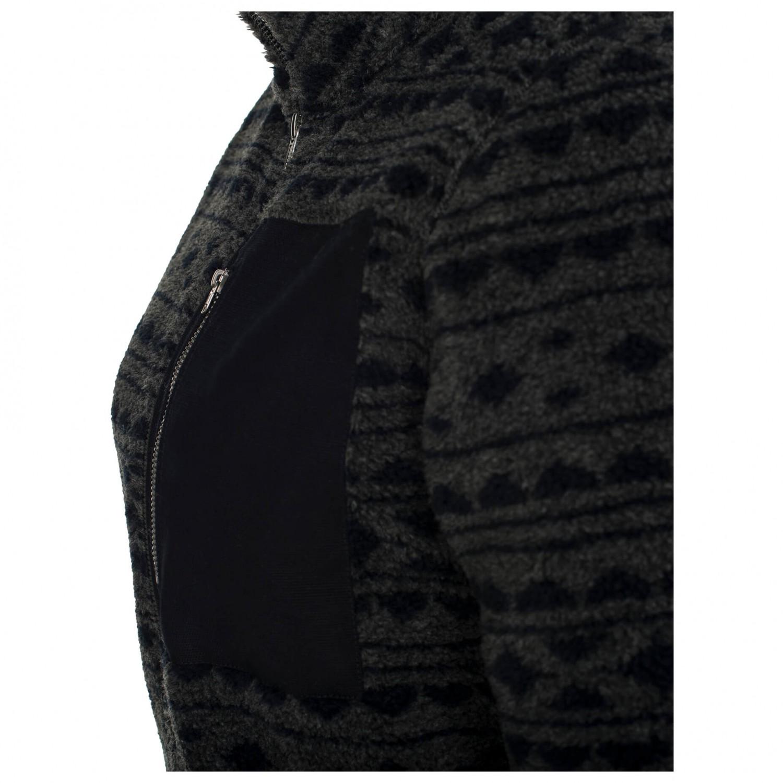 Varg Women's Klädesholmen Jersey Fleecejacka Dark Blue   XS