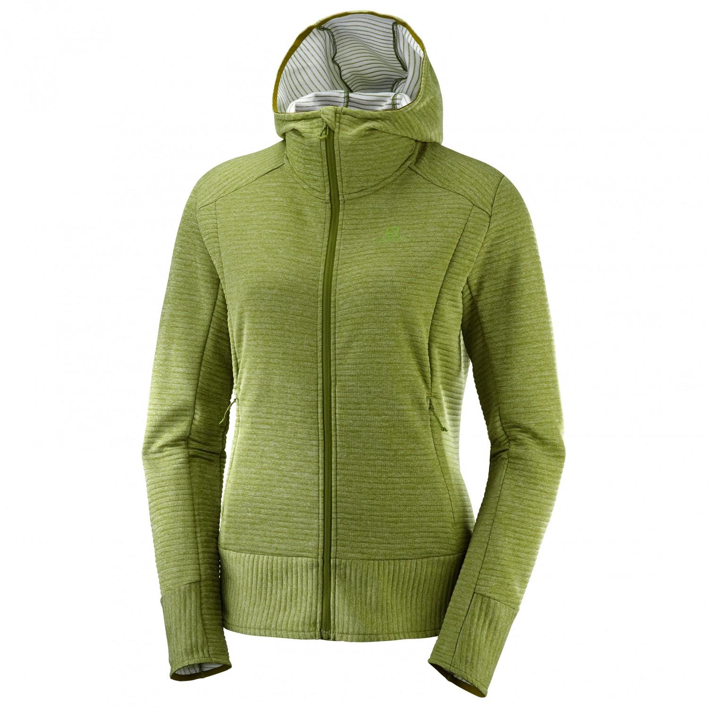 sale usa online finest selection official supplier Salomon - Women's Right Nice Mid Hoodie - Fleece jacket - Night Sky   XS