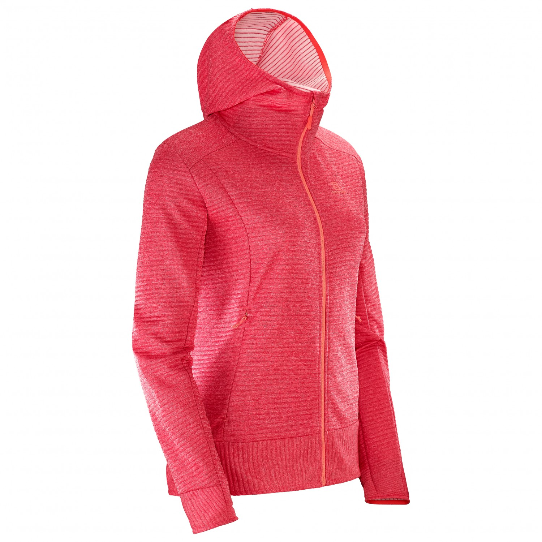 UK Free Right Salomon Nice Women's Hoodie Fleece Mid Jacket vWfqxgS7