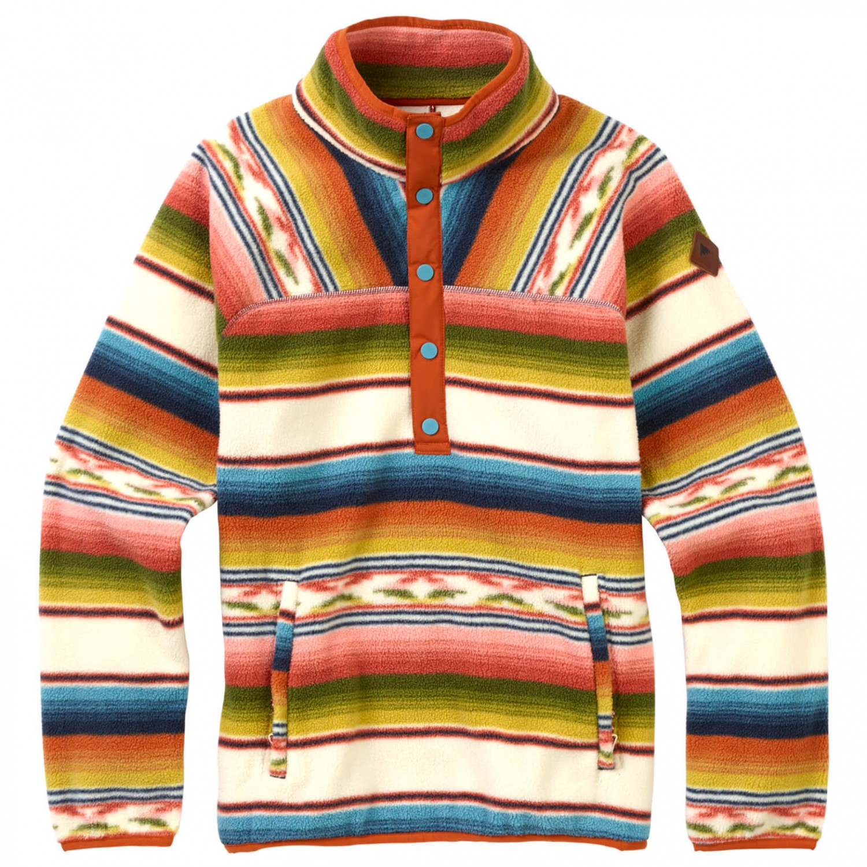 9a5bb51ee4 Burton - Women's Hearth Fleece Pullover - Fleece jumpers - Mood Indigo | XS