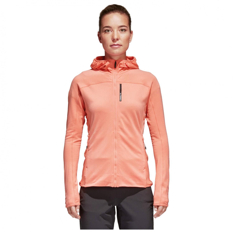 eco Permanente Desobediencia  Adidas Terrex TraceRocker Hooded Fleece - Fleece jacket Women's ...