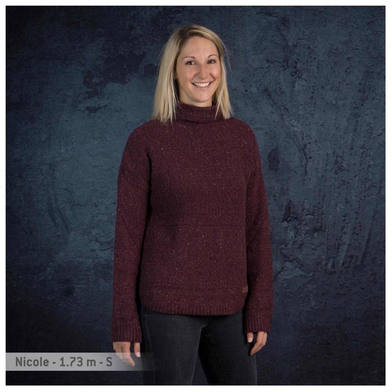 Sherpa Yuden Pullover Sweater Pull Mérinos Femme Livraison