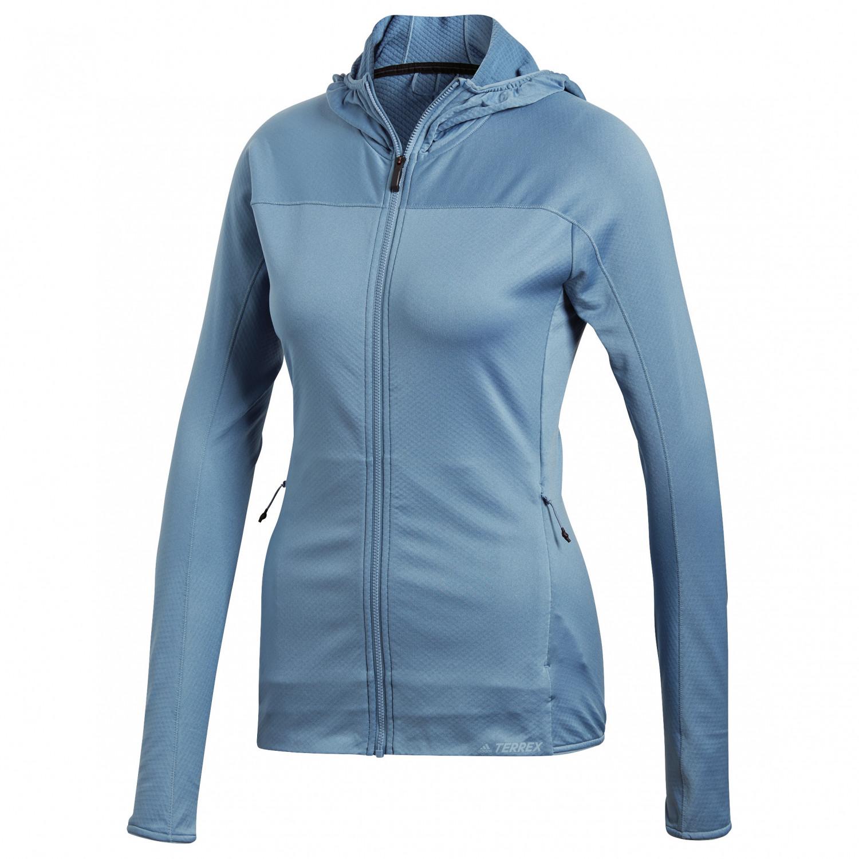 Adidas Tracerocker Hooded Fleece Jacket Fleecejacke Damen
