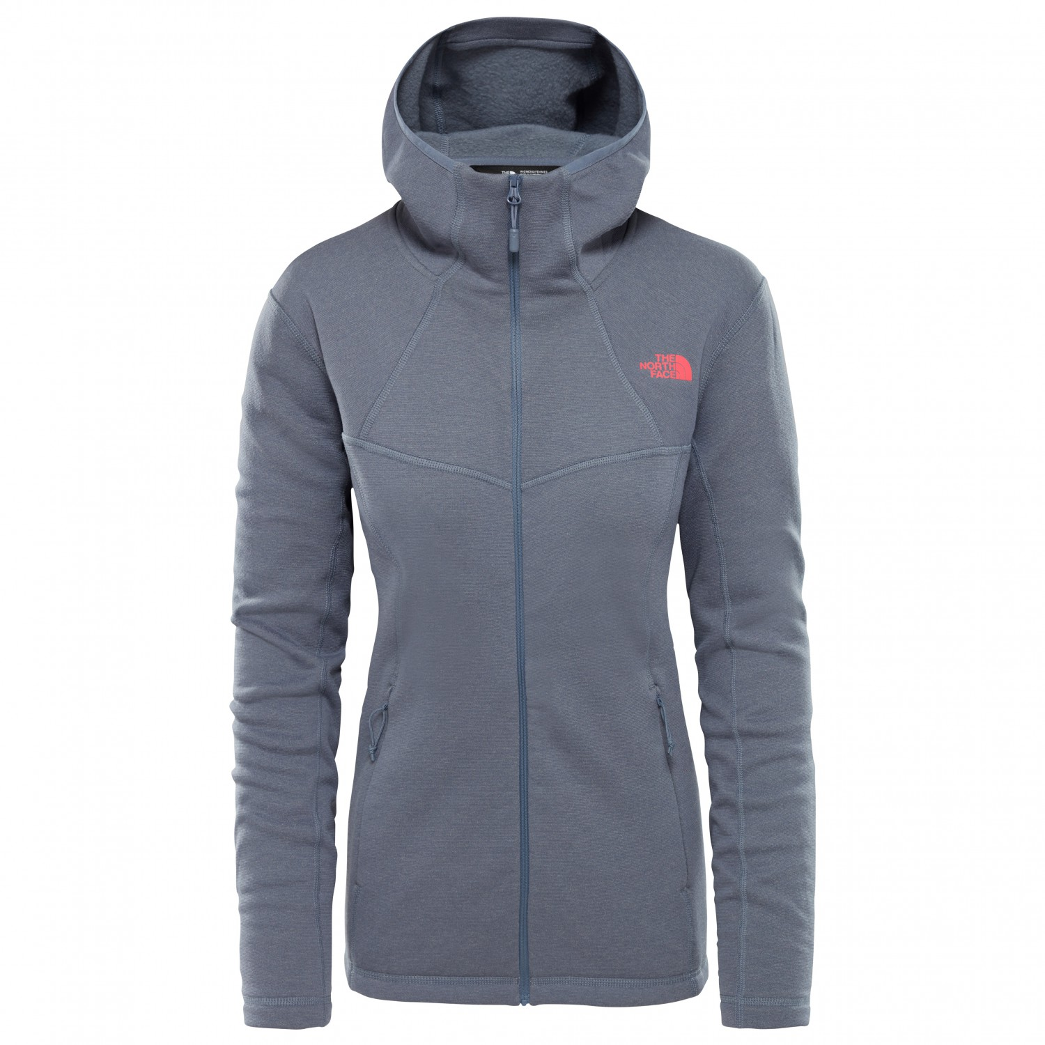 Jacket Hoody Wool Inlux Face North Fz Women's The wHSPfxqx