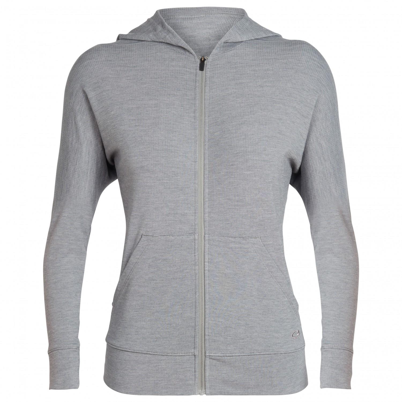 a0cd911c14fc9 Icebreaker - Women s Momentum L S Zip Hood - Wool jacket ...