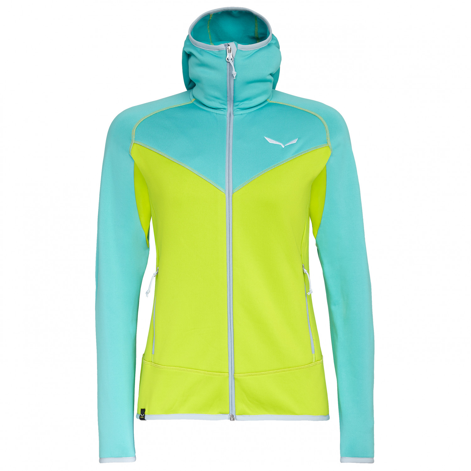 Salewa Puez Hybrid Polarlite Women Full Zip Fleece SKI