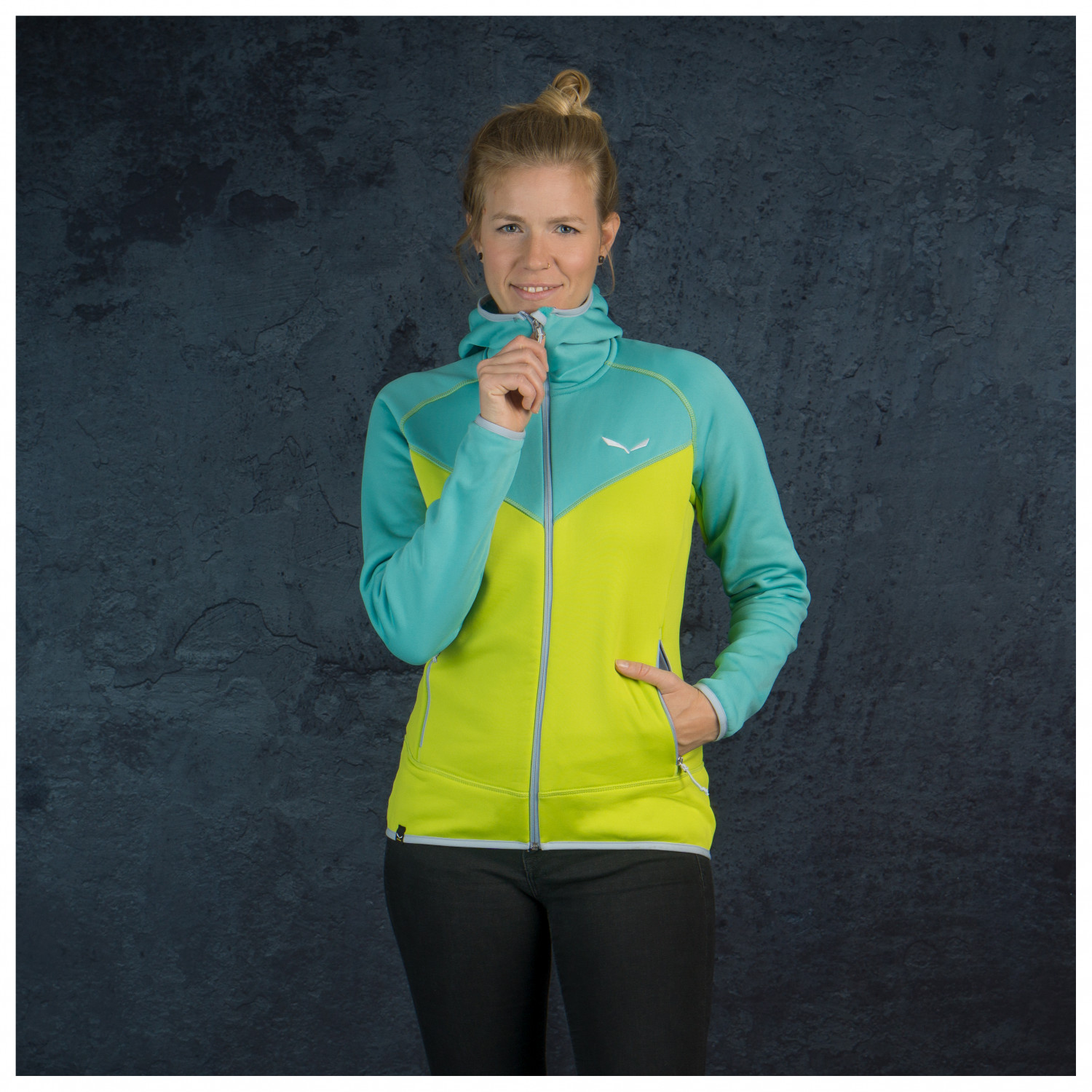 Puez 3 Polarlite Full Zip Women's Hoody