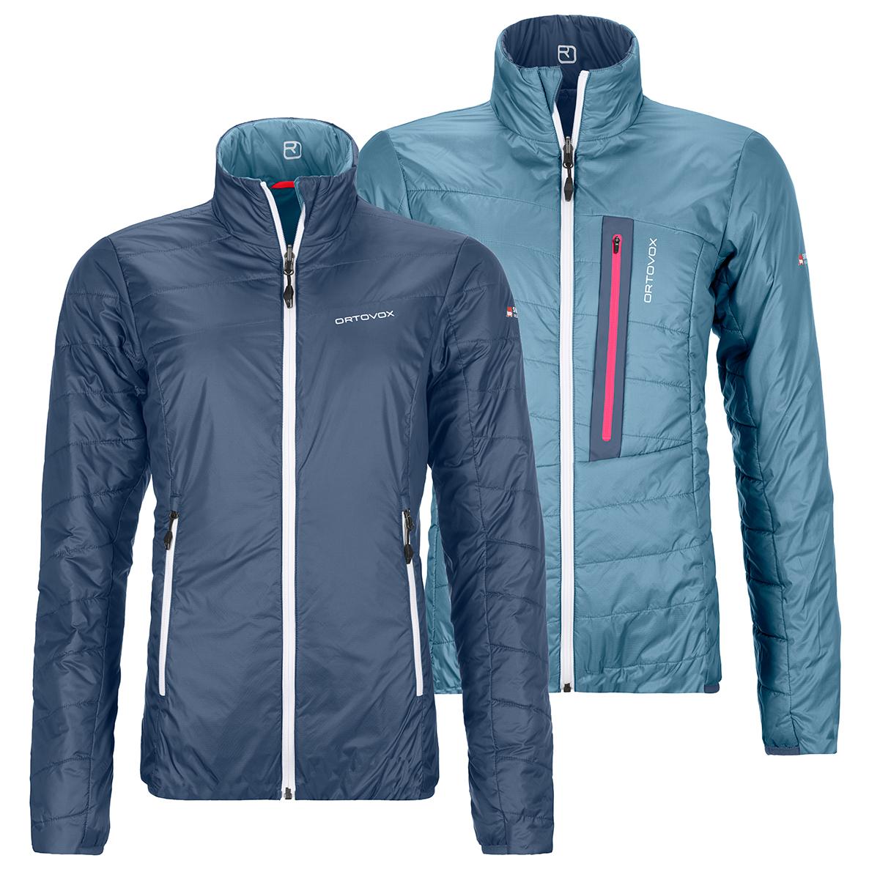 Ortovox Women's Swisswool Piz Bial Jacket Uldjakke Night Blue | M
