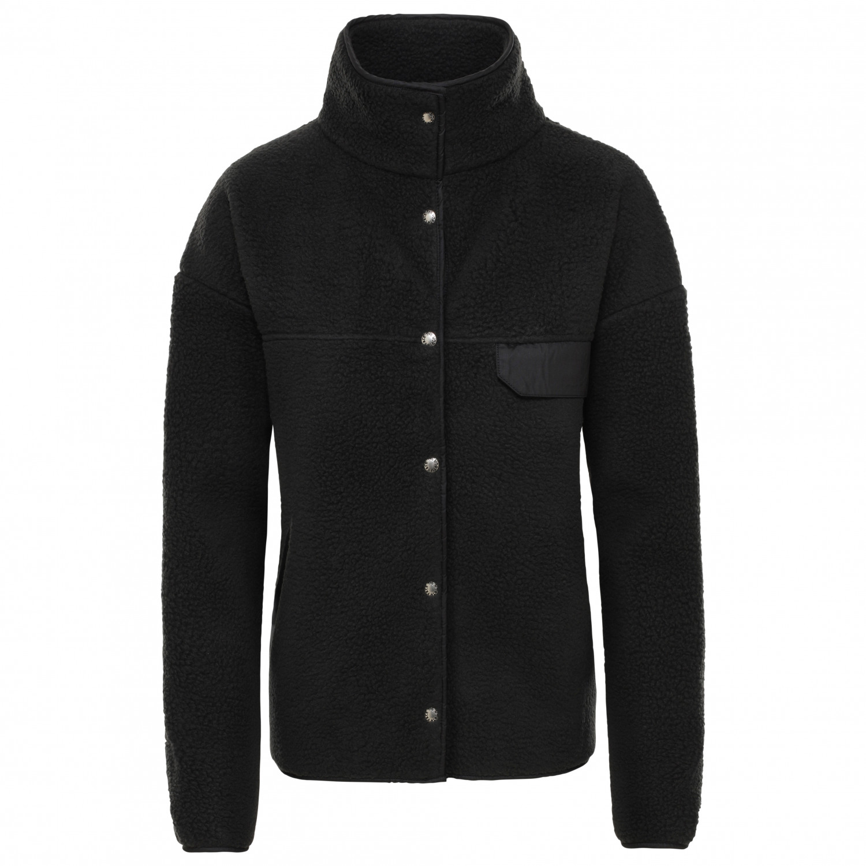 The North Face Women's Cragmont Fleece Jacket Fleecejacka TNF Black | S