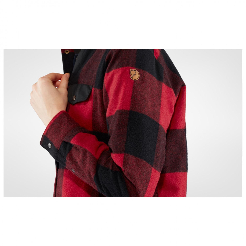 FJALLRAVEN Womens Canada Wool Padded Jacket W