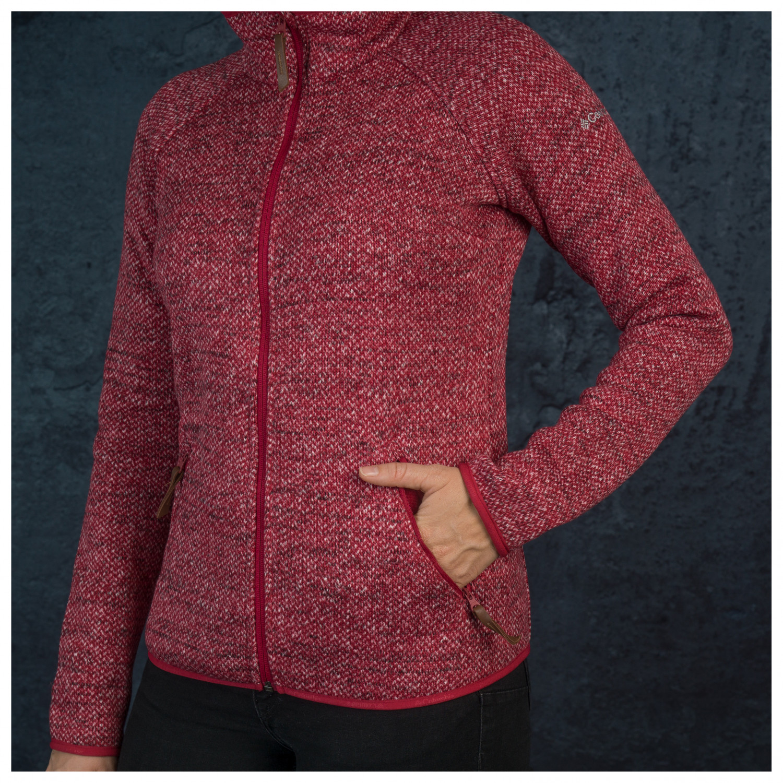Columbia Women's Chillin Fleece Non Hooded Fleecejacke Pomegranate | XS