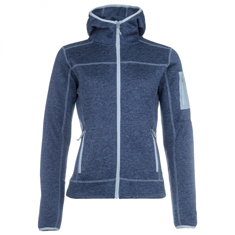 Stoic Flatfleece Hoody Jacket Heden Fleecejacke Damen
