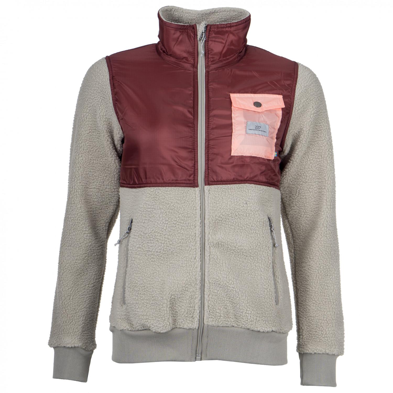 2117 of Sweden Women's Pile Jacket Gallebo Fleecejacka Grey | 34 (EU)